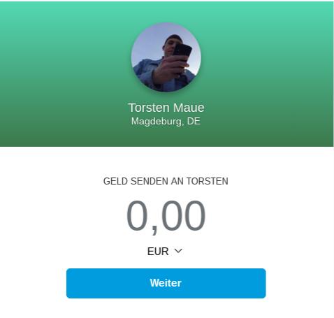 PayPal.ME-Screenshot