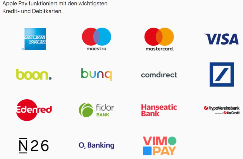 Apple Pay (Screenshot von apple.com)