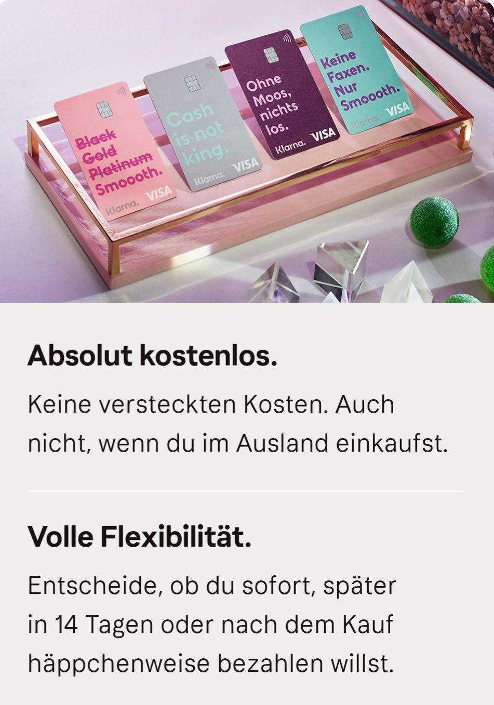 klarna card zahlungsdienstleister klarna bringt eigene kreditkarte heraus finanzen. Black Bedroom Furniture Sets. Home Design Ideas
