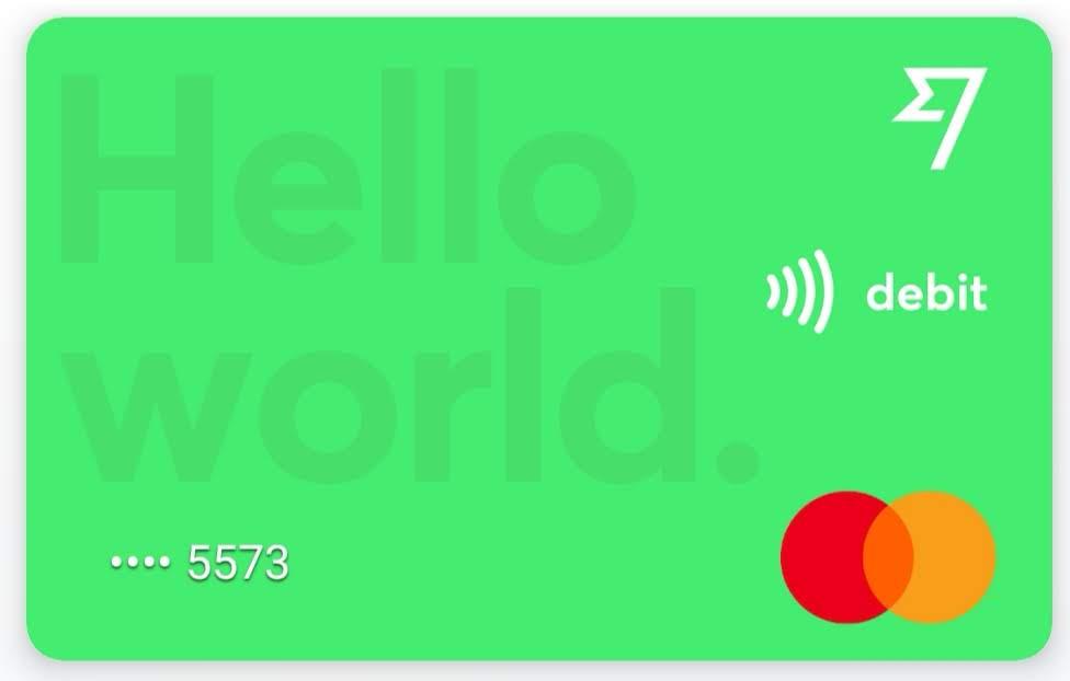 Transferwise Debit Mastercard