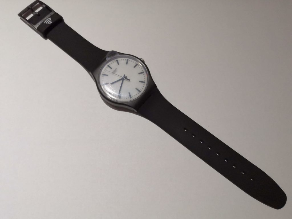 Swatch BlackBack mit SwatchPay